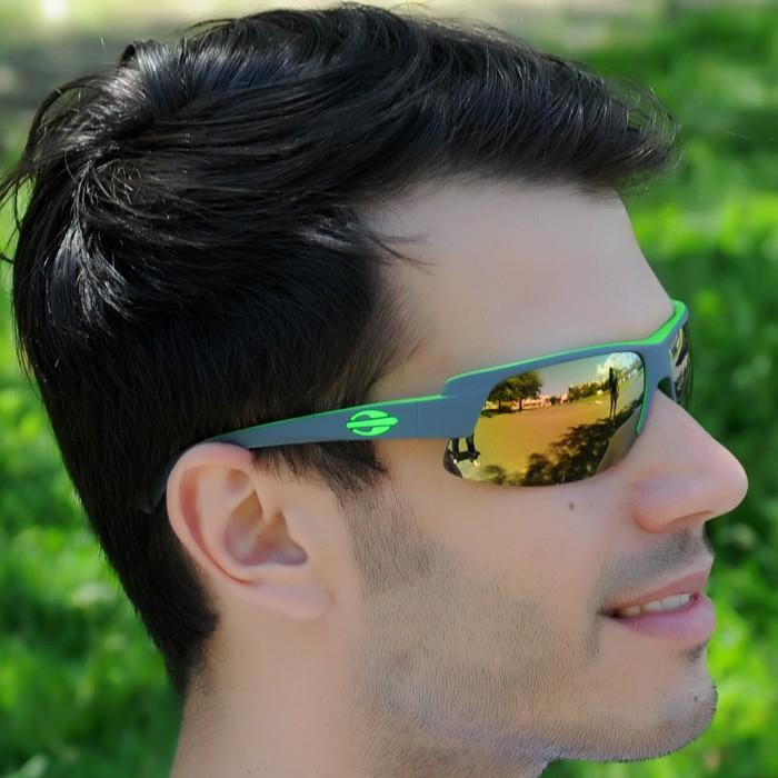 Óculos Mormaii Gamboa Air 3 Verde e Preto Lente Dourada ref 44123896 9cdc814b2c