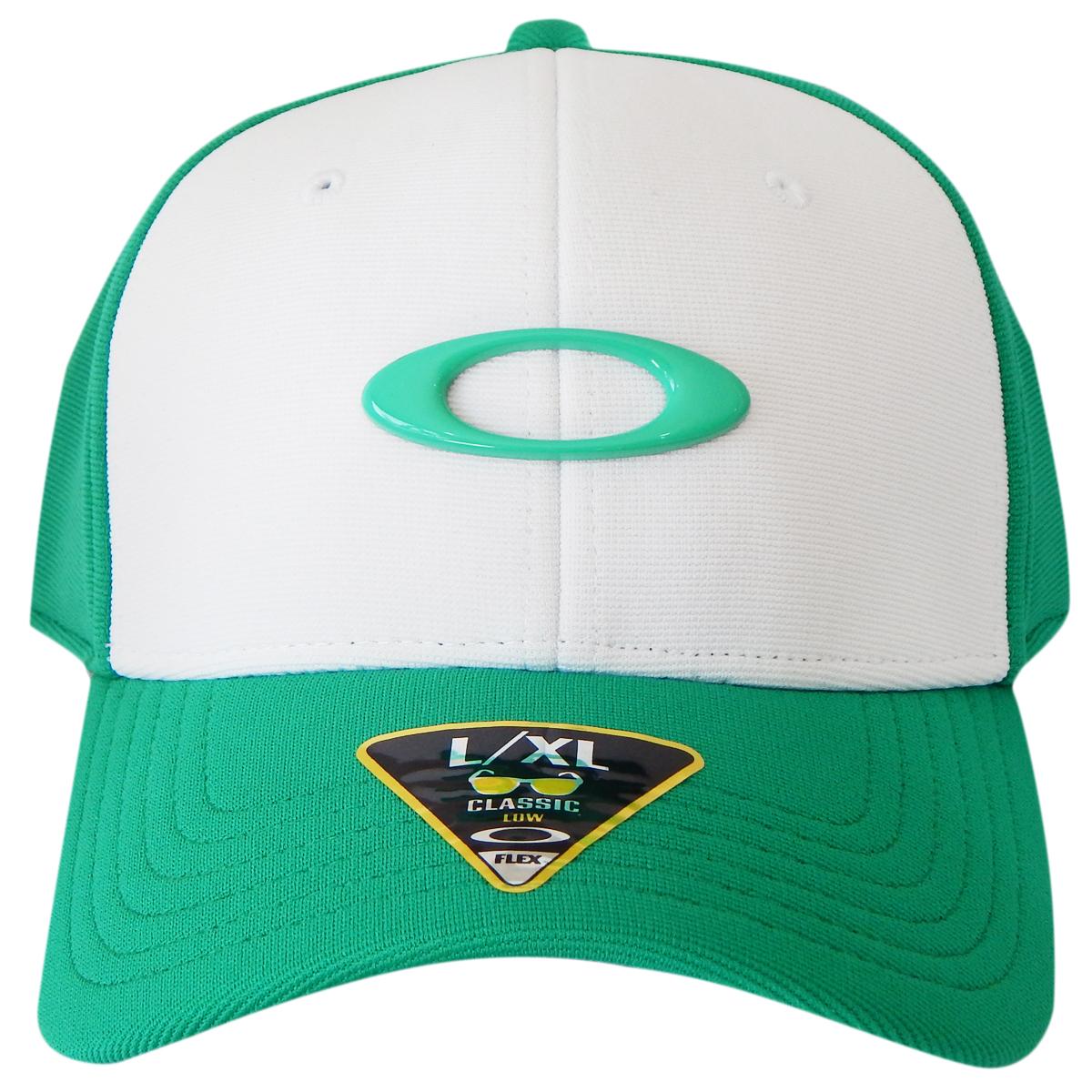 Boné Oakley Tincan Cap Verde Com Branco LANÇAMENTO ref 911545-75R cfd231513a