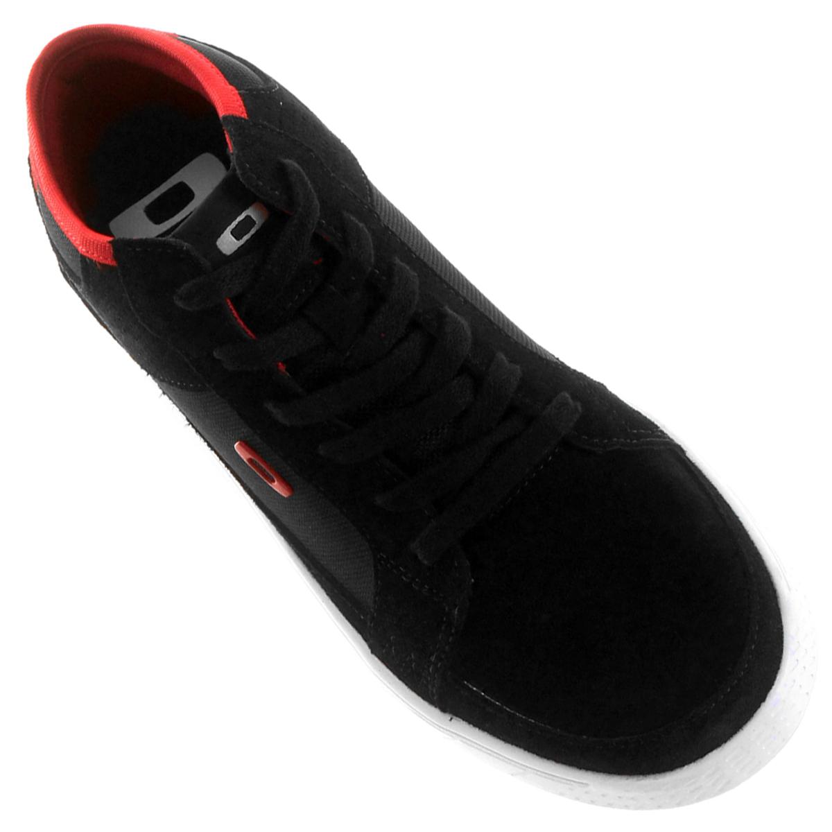 Tênis Oakley Roadtrip Preto com Vermelho passe o mouse para ver em zoom 0ae6889b1283d