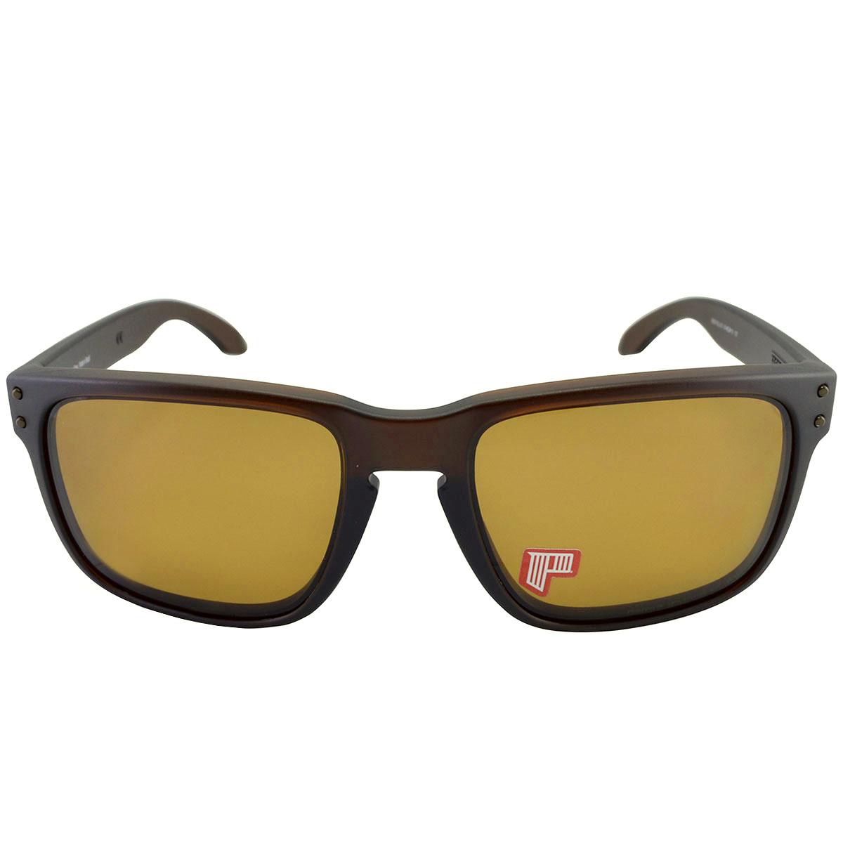 Óculos Oakley Holbrook Matte Rootbeer Lente Bronze Polarizado ref ... 6bb5e2801c