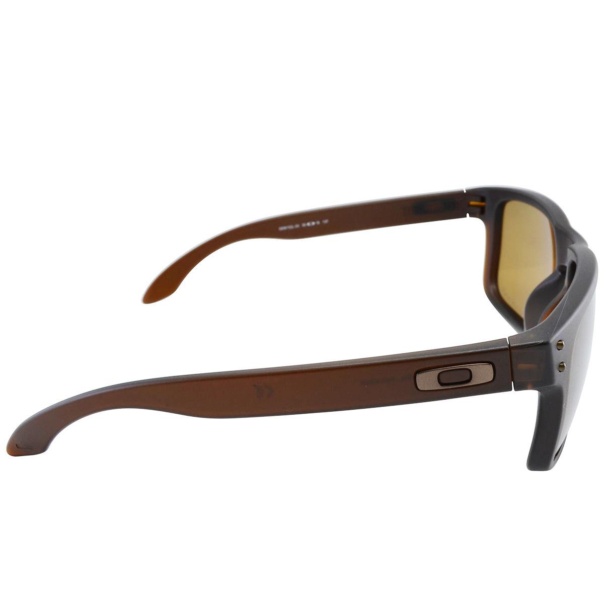 be57abaf5717c Óculos Oakley Holbrook Matte Rootbeer Lente Bronze Polarizado ref ...