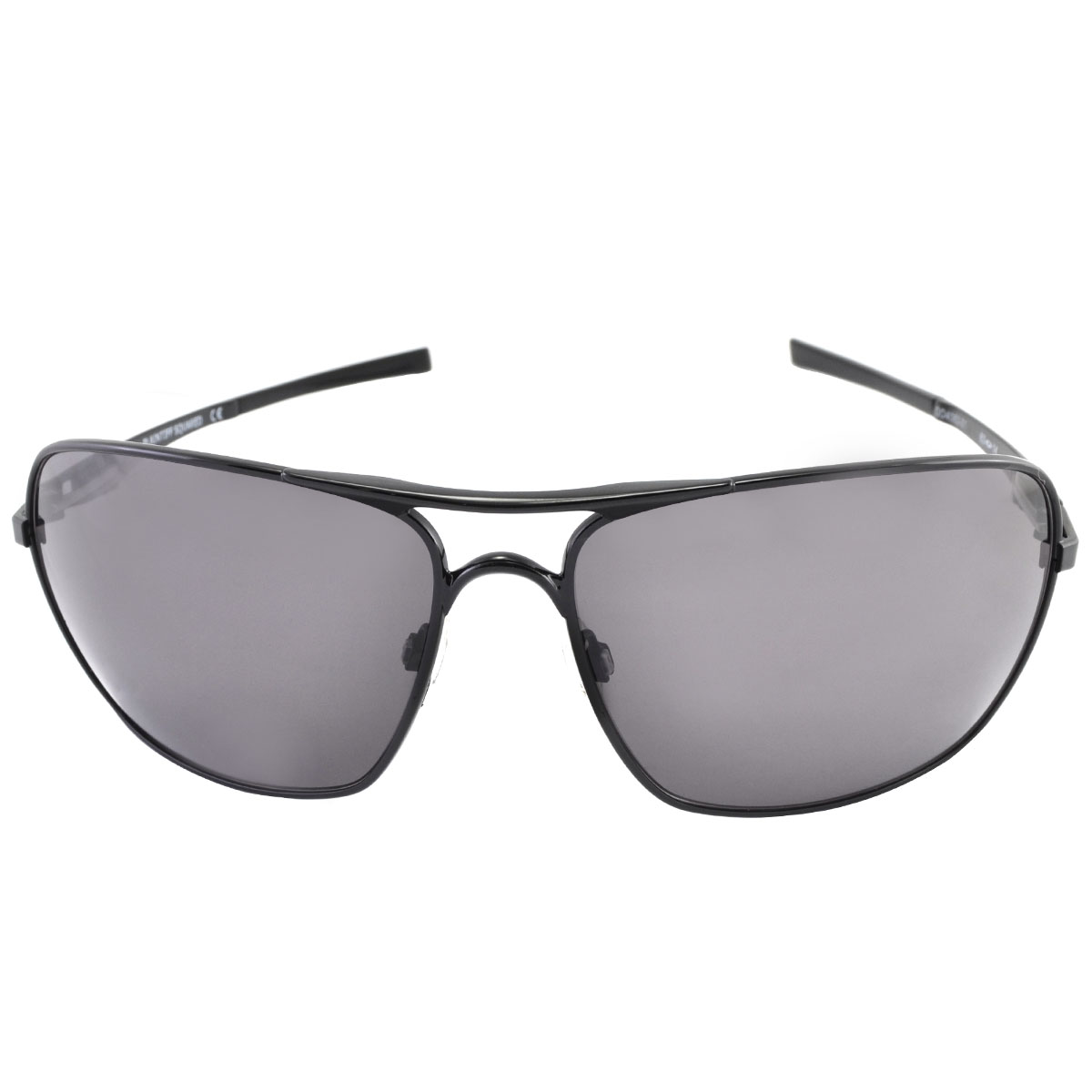 Óculos Oakley Plaintiff Squared Polished Black Lente Warm Grey ref OO4063-01 f2a5d7ba28