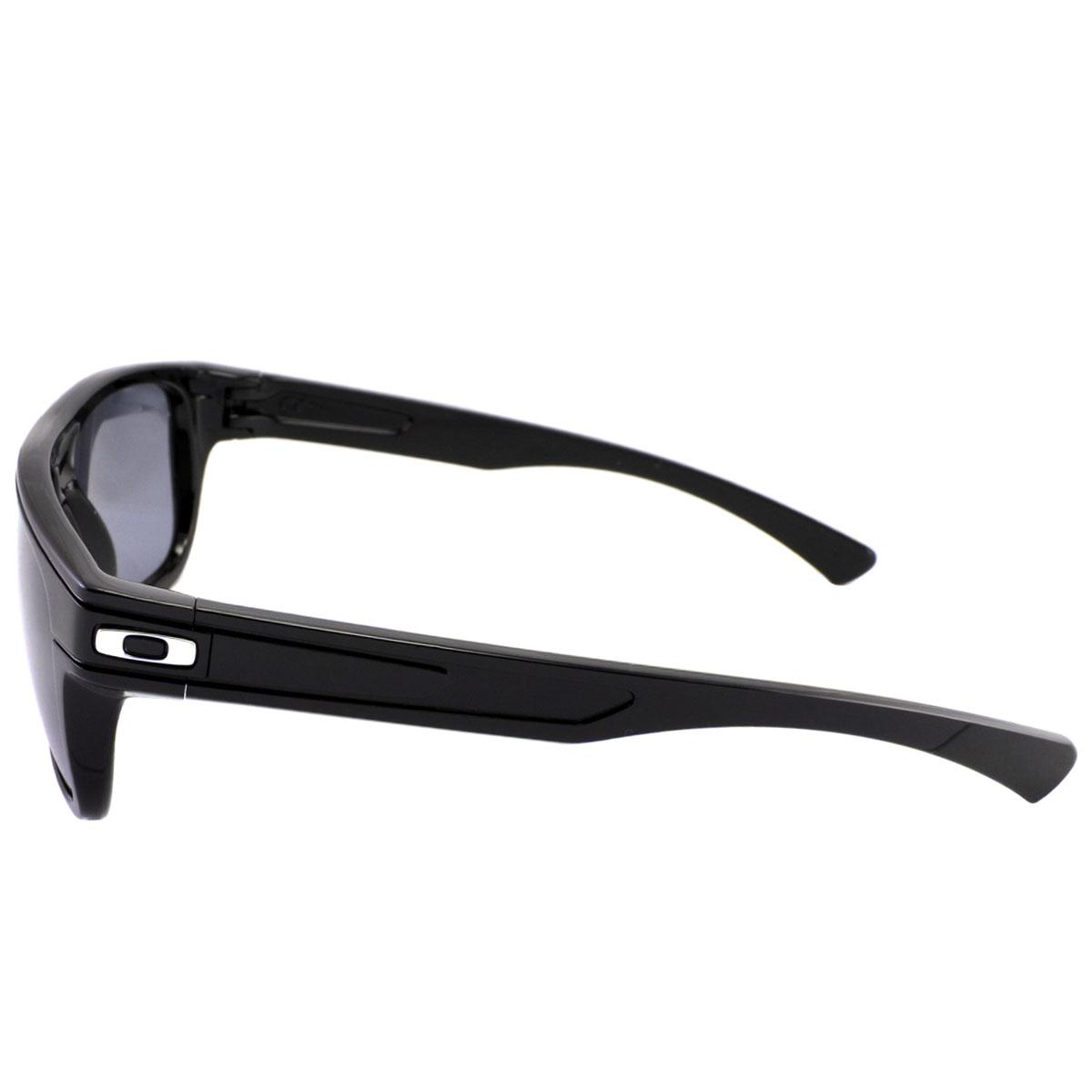 Óculos Oakley Breadbox Polished Black Lente Warm Grey ref OO9199-01 b31ae95356