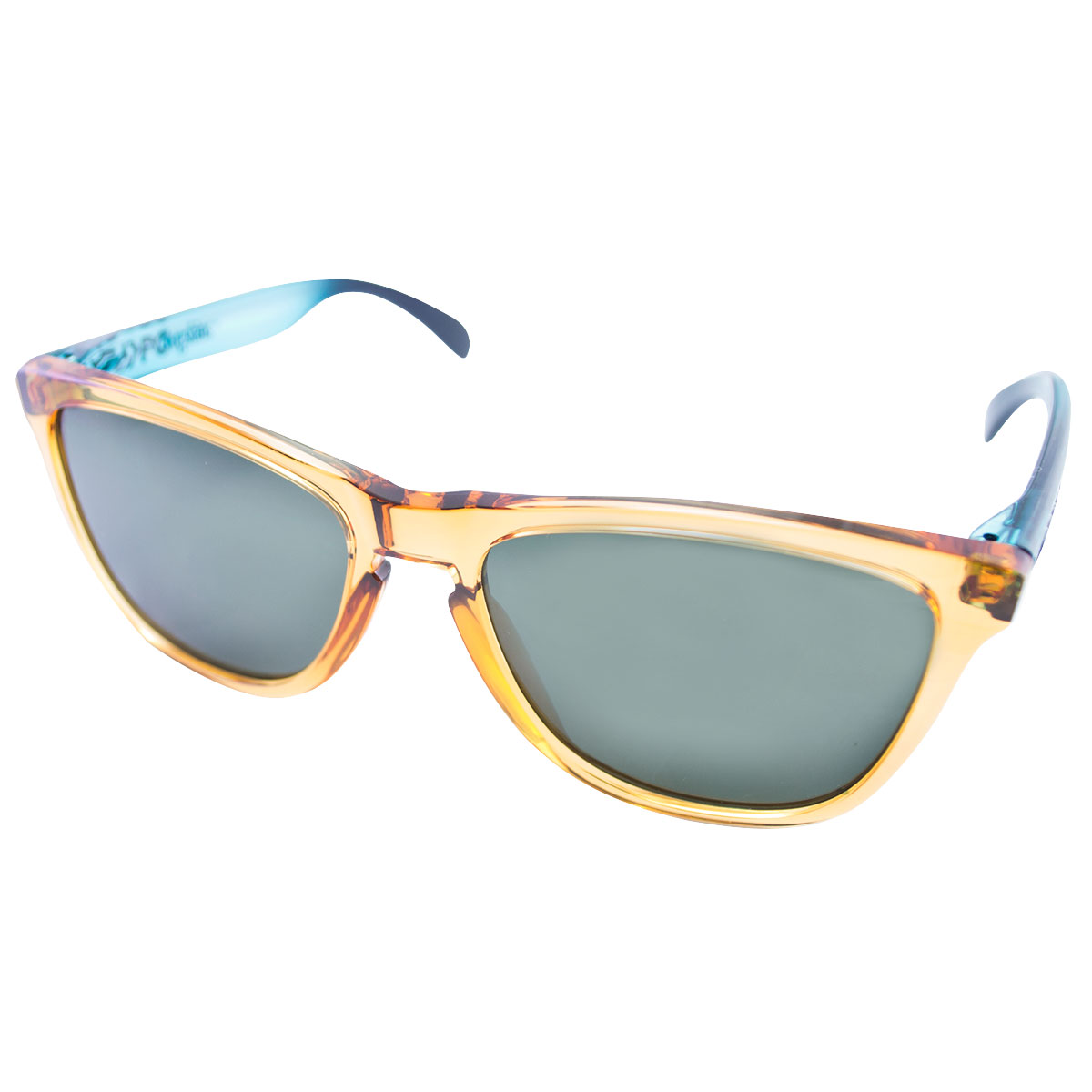 48f9340d643e7 Óculos Oakley Frogskins Surf Collection Ochre and Blue Lente Dark Grey ...