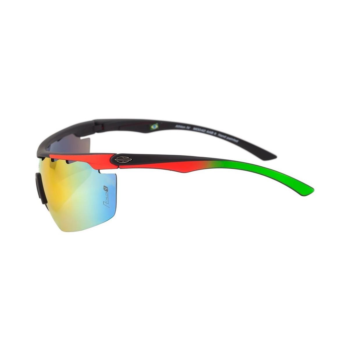 Óculos Mormaii Athlon 4 Preto  Lente Vermelho Degradê ref M0042AAB11 f5e0eb3f00