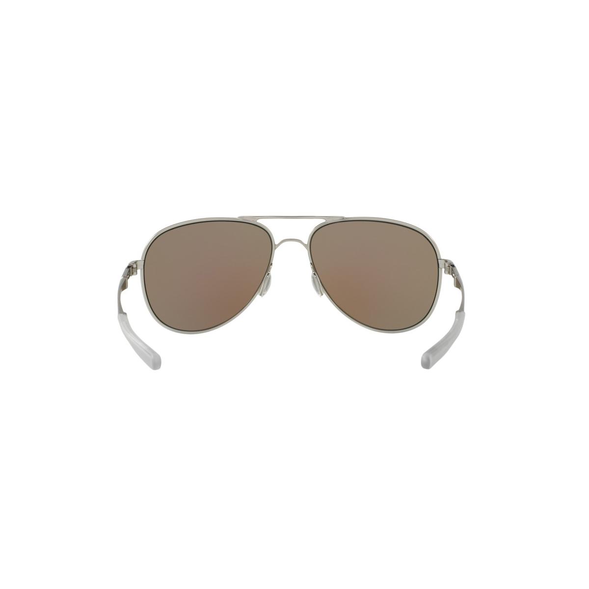 ... Óculos Oakley Elmont L Satin Chrome  Lente Saphire Iridium Polarizado  ... 9fce179952