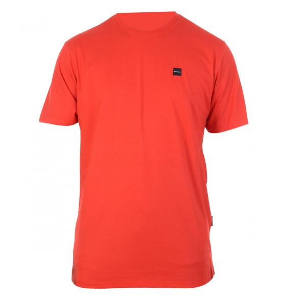 Camiseta Oakley Patch 2.0 Tee Vermelha