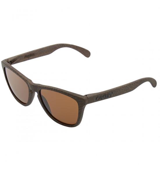Óculos Oakley Frogskins Tobacco/ Lente Dark Bronze