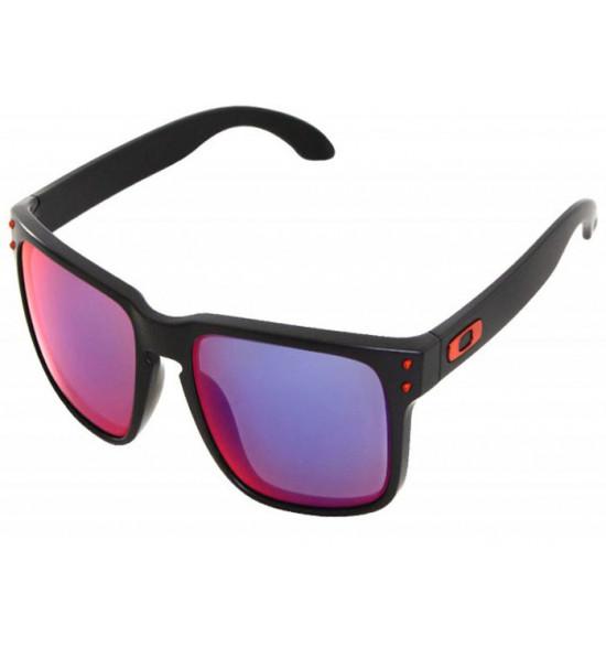 047b1e8e5f1d6 Óculos Oakley Holbrook Ducati Matte Black Lente Red Positive Iridium ...