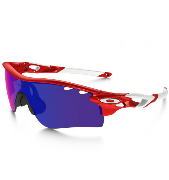 95610c315 Óculos Oakley RadarLock Path Infrared/Red Iridium e Clear VR28 LANÇAMENTO