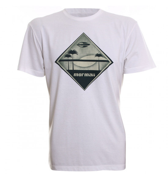 Camiseta Mormaii Dusk to Dawn Creme LANÇAMENTO