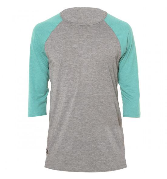 Camiseta Oakley Old School Knit Manga Longa Verde LANÇAMENTO ref ... 6d1e8aee075