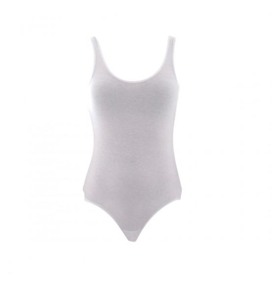Regata Body Checklist Canelado Branco