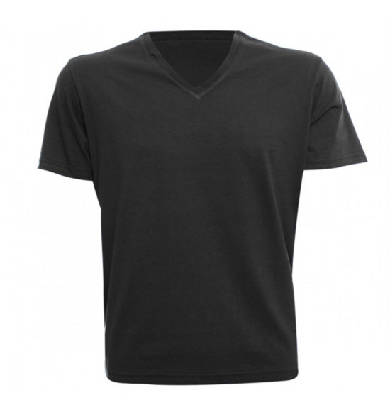 Rx Camiseta Alma De Praia Gola V Preta