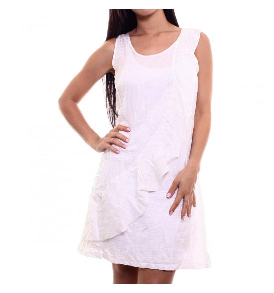 Vestido Checklist Branco