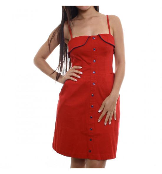 Vestido Eclectic Charme Vermelho - Ultima Peça tam P