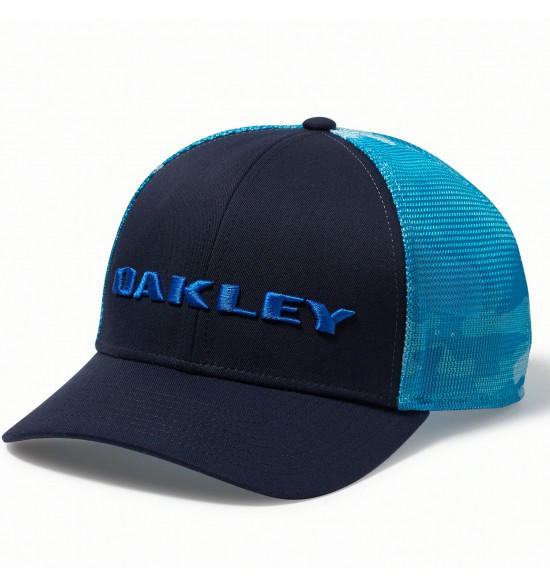 Boné Oakley Print Golf Trucker Azul Bebe Camuflado LANÇAMENTO ref ... 18afb3236a7