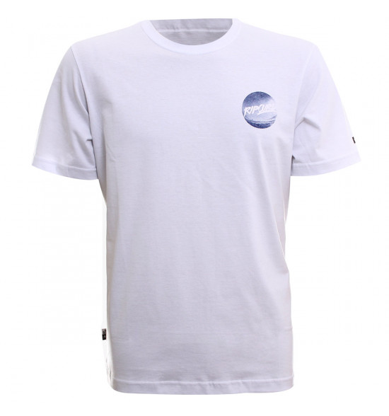 Camiseta Rip Curl Brash Youth Branca LIQUIDAÇÃO