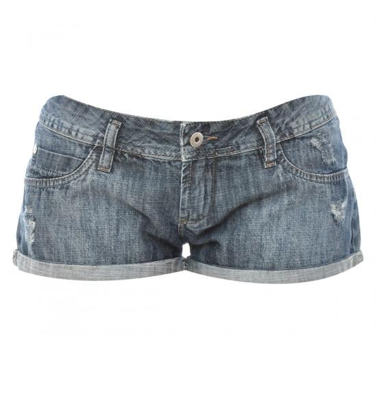 Sx Shorts Alma De Praia Jeans Curto  EM OFERTA