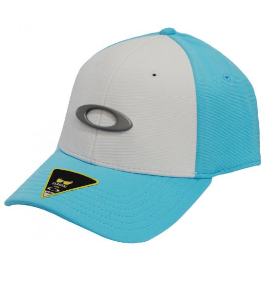 Boné Oakley Tincan Cap Azul Bebe com Branco ref 911545-6CR 8100590035d