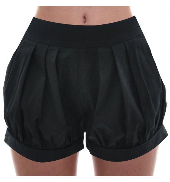 Shorts Checklist Pregas Preto