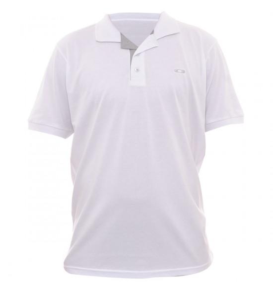 Camisa Polo Oakley Better Branco PROMOÇÃO