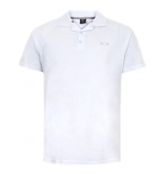 Camisa Polo Oakley Recent Branca PROMOÇÃO