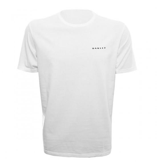 Camiseta Oakley Barrel Branco PROMOÇAO Ultima Peça tam G
