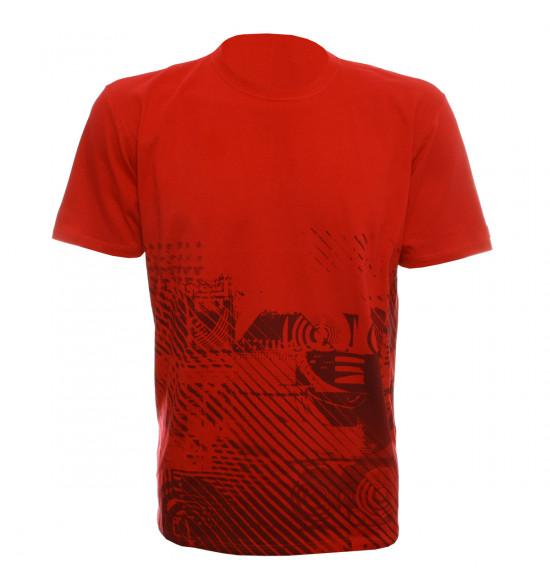 Camiseta Oakley MaxFearlight Vermelho LIQUIDAÇÃO VERAO