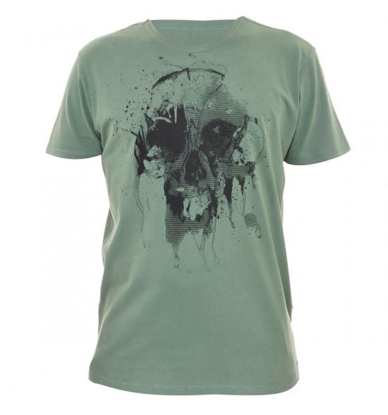 Camiseta Oakley Skull Verde PROMOÇAO Ultima Peça tam GG