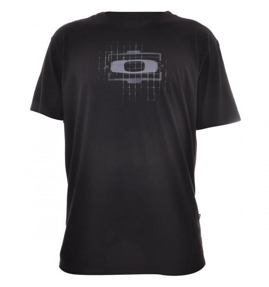 Camiseta Oakley Gascan Logo Preto PROMOÇAO Ultima Peça tam P