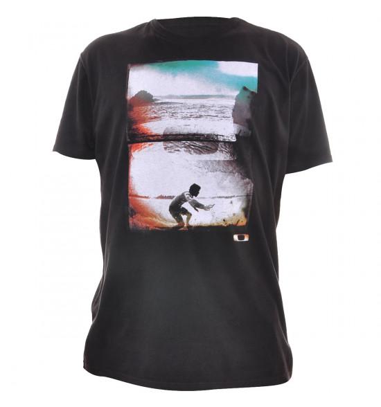Camiseta Oakley Dentro da Onda Preto PROMOÇÃO Ultima Peça Tam GG