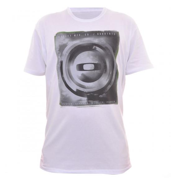 Camiseta Oakley Goodbye Blue Sky Branco LIQUIDAÇÃO