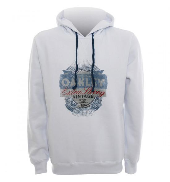 Moletom Oakley Strong Hoody Branco Style