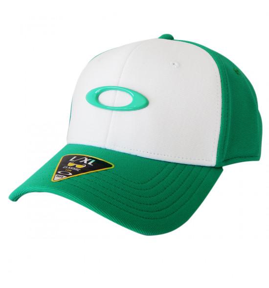 Boné Oakley Tincan Cap Verde Com Branco LANÇAMENTO ref 911545-75R a610f3df5be