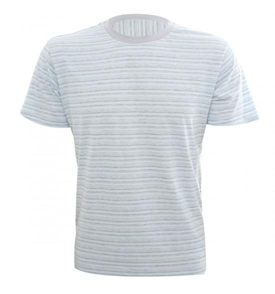 Rx Camiseta Alma De Praia Listrada Azul