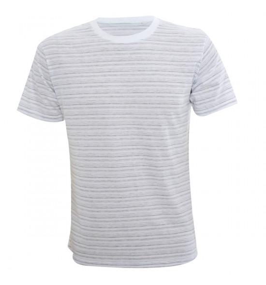 Rx Camiseta Alma De Praia Listrada Branca