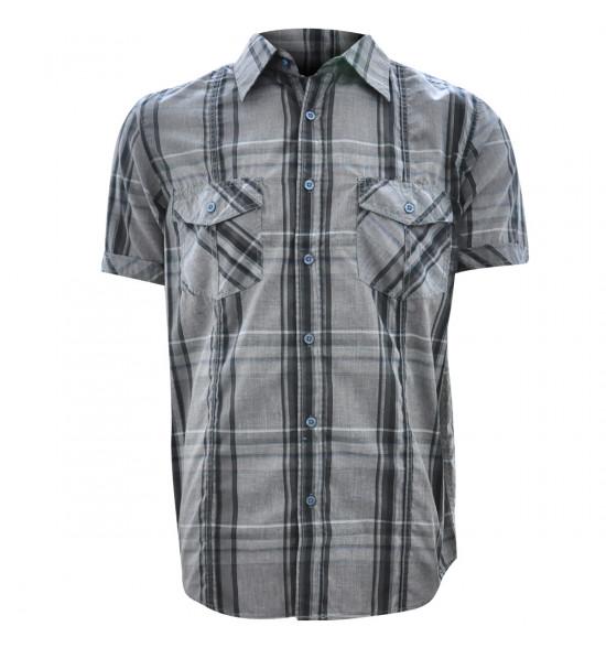 Rx Camisa Alma De Praia Cross Cinza