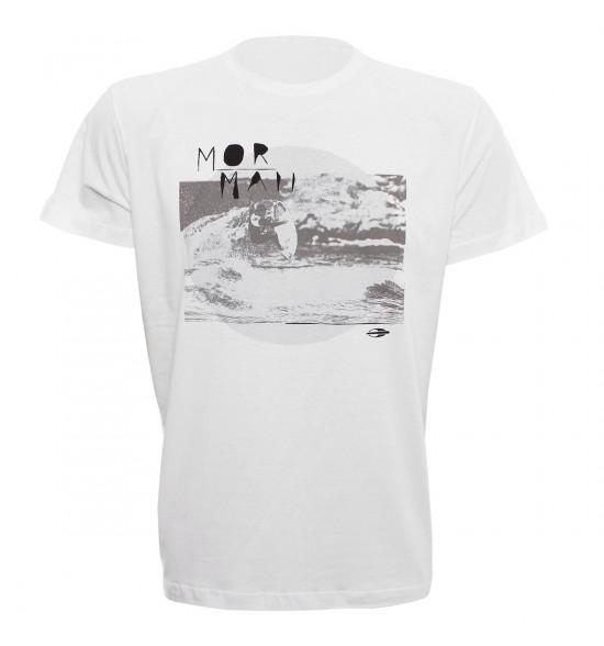 Camiseta Mormaii Joaquina Session Branco LIQUIDAÇÃO VERAO