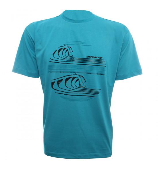Camiseta Mormaii Tubes Azul PROMOÇAO Ultima Peça tam P