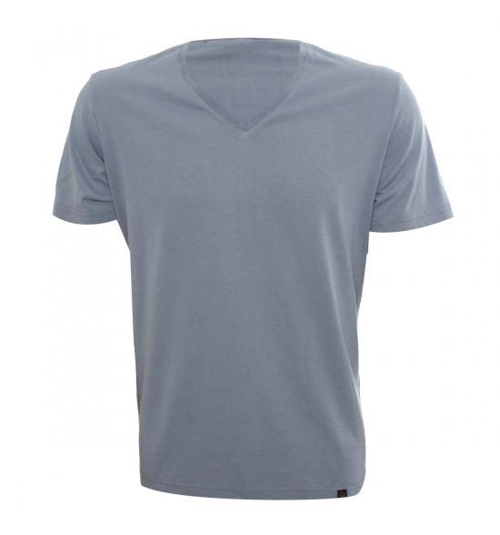 Rx Camiseta Alma De Praia Gola V Azul