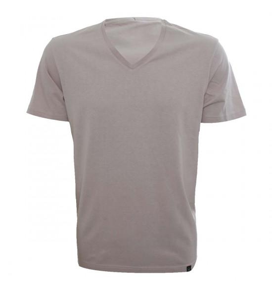 Rx Camiseta Alma De Praia Gola V Rosê