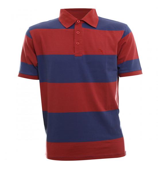 Rx Camisa Polo Alma De Praia TKTS Listras