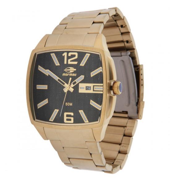 59a2d4a0c Relógio Mormaii Loyal Dourado LANÇAMENTO ref MO2315ZN/4P