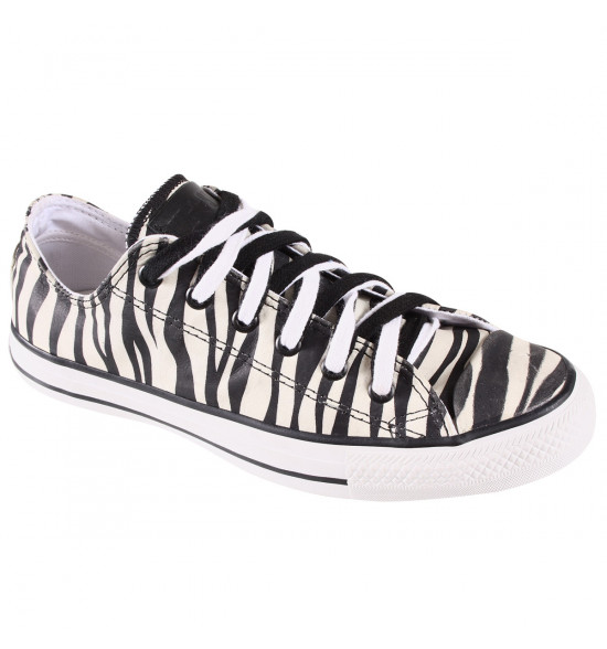 Tênis All Star Converse Animal Print De Couro