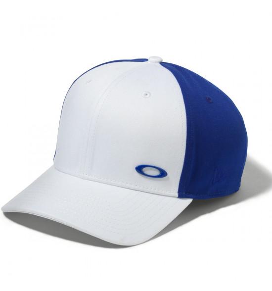 Boné Oakley Tinfoil New Era Branco Com Azul ref 911548-609 11393b6abea