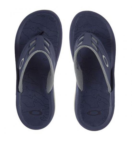 13eff339e80 Chinelo Oakley Super Coil 15 Azul e Cinza ref 10147-67Z