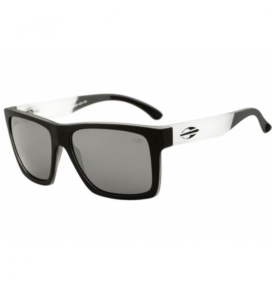 Óculos Mormaii San Diego Preto Fosco/Lente cinza