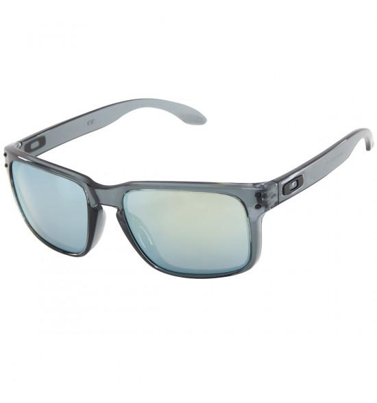 fe7d2c37b Óculos Oakley Holbrook Crystal Black W/ Emerald Iridium ref OO9102 ...