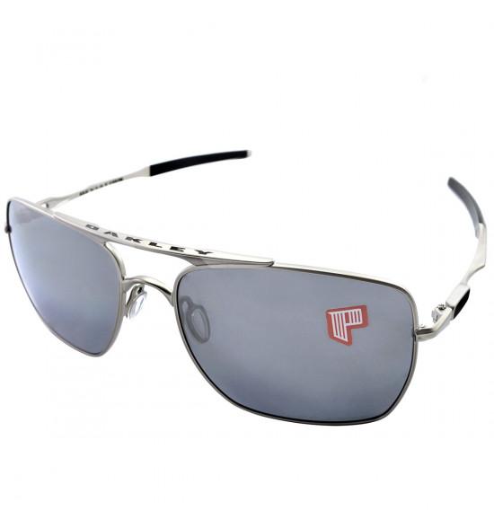 e5b3942a88ff5 Oculos Oakley Deviation Ligth W Black Iridium Polarizado ref OO4061-06